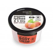 Organic Shop Body Cream lychee & 5 Oils 250ml
